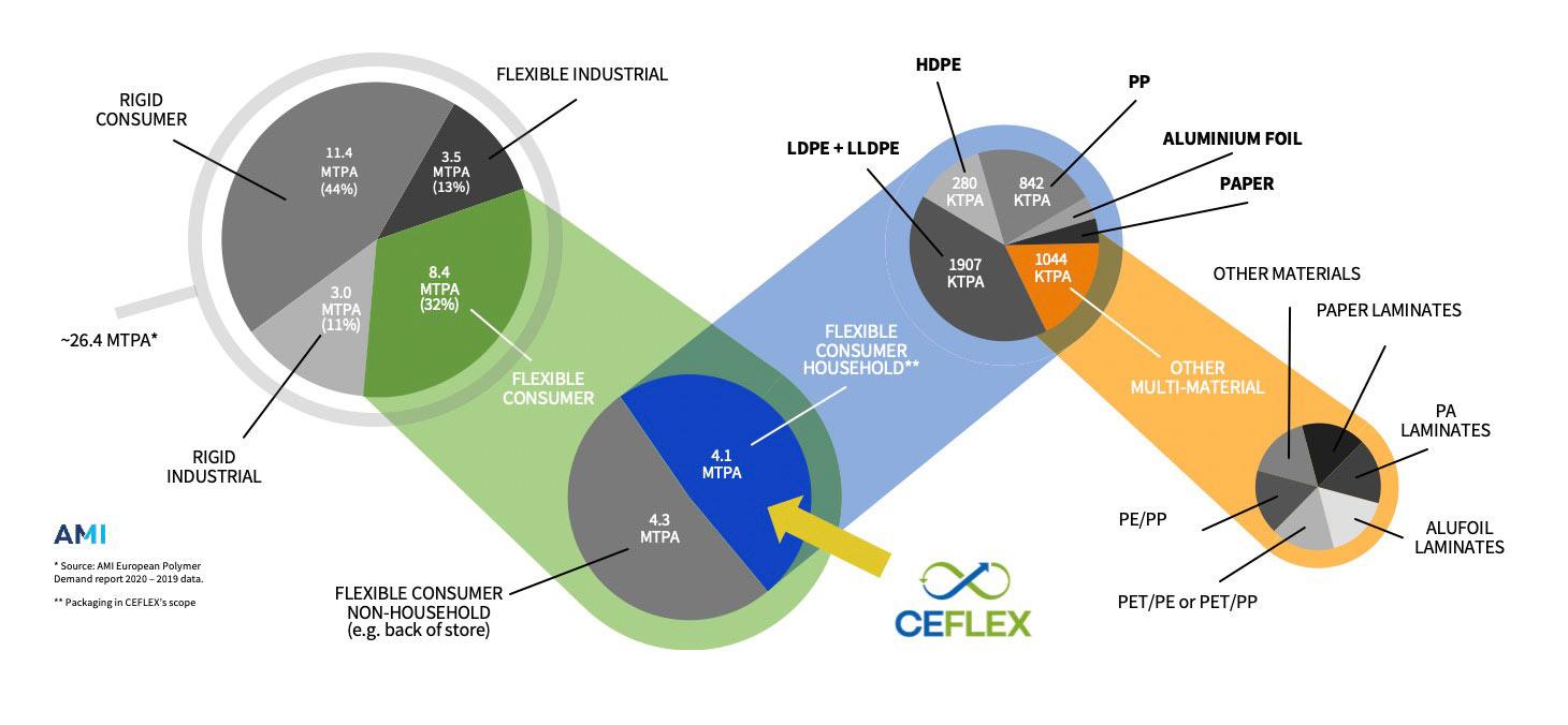Diagram representing CEFLEX market scope