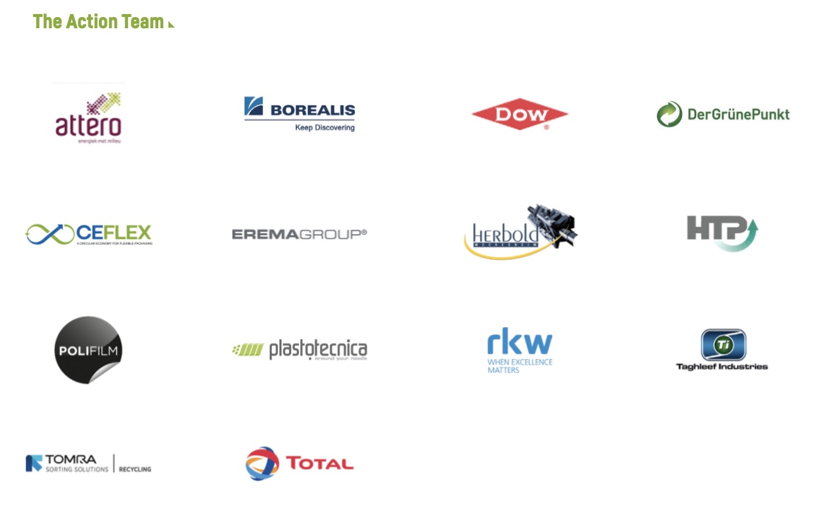 A collection of the logos of the 14 stakeholders who are part of the QRP Action team